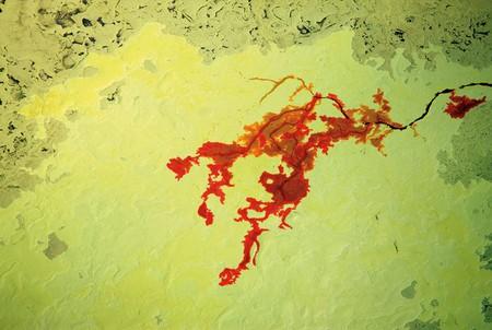 Добыча серы из песков, Канада, 2009 год.