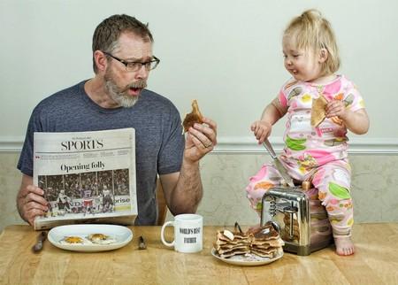 Папа и дочь – истории в картинках. Фото Дэйва Энглдау — фото 44