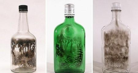 Дымный мир внутри бутылки – работы Джима Динджилиана — фото 8