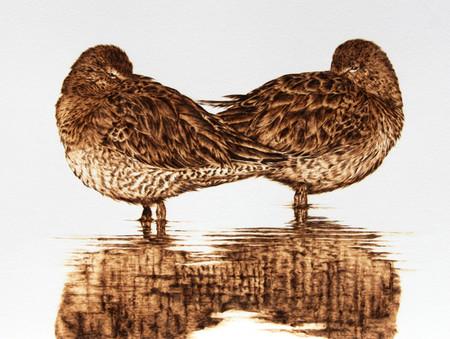 Пирография – горячая живопись Джулии Бендер — фото 18