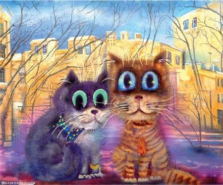Коты и кошки Бориса Касьянова — фото 29
