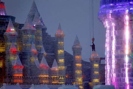 Фестиваль Ледяных дворцов в китайском Харбине – зимняя сказка — фото 14