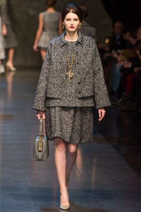 Dolce & Gabbana осень-зима 2013-2014 – когда всего слишком много — фото 27