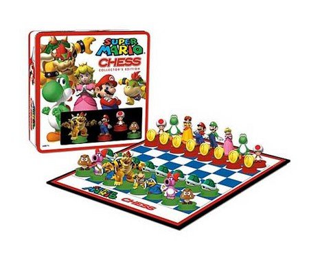 Шахматы для поклонников Супер Марио