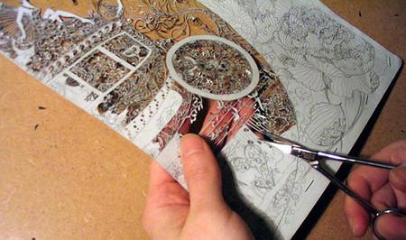 Кружева из бумаги – ювелирные работы Хины Аоямы — фото 17