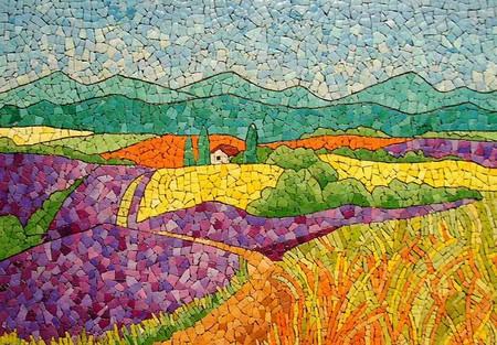 Мозаика из яичной скорлупы Любови Мешакиной — фото 25