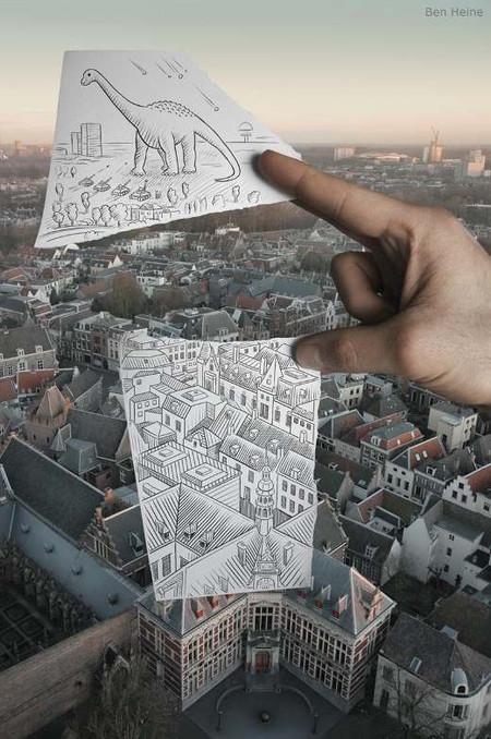 Карандаш против камеры – проект Бенджамина Хейна — фото 8