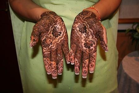 Менди – украшение не только для индийских принцесс — фото 49