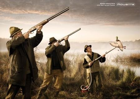 Бескровная охота – пылесос вместо ружья. Утка в шоке )