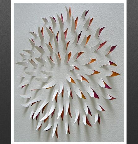 Тонкая бумажная резьба – работы Лизы Родден — фото 17
