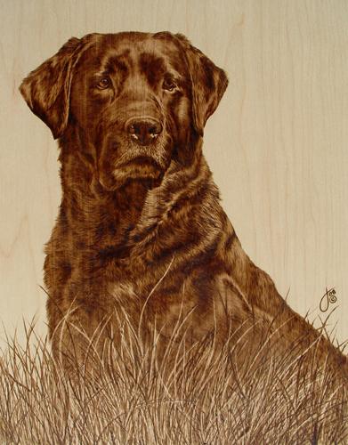 Пирография – горячая живопись Джулии Бендер — фото 3