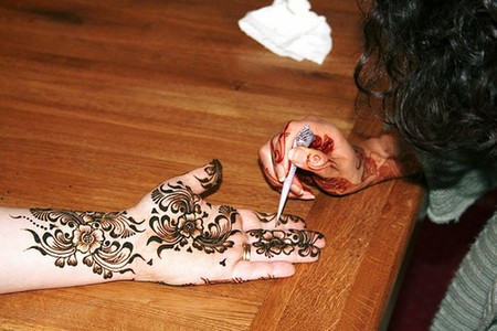 Менди – украшение не только для индийских принцесс — фото 52