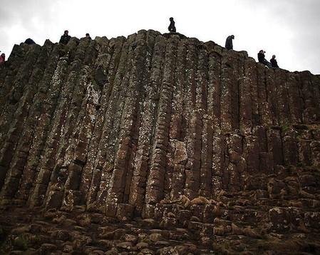 Дорога Гигантов – ступени из базальтовых столбов — фото 9