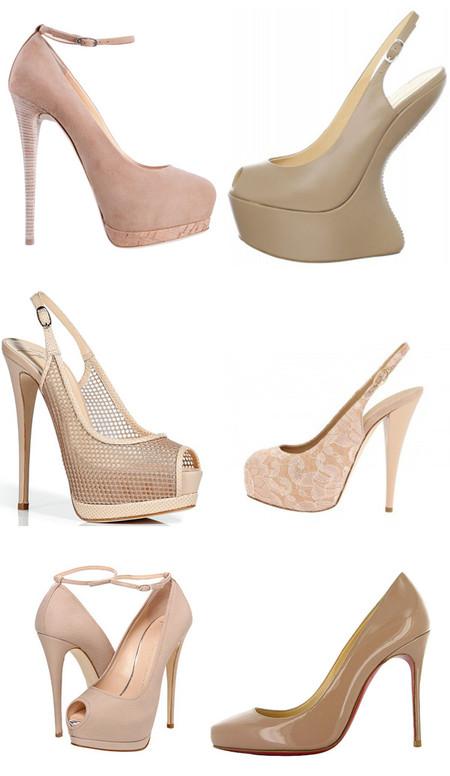 Туфли цвета «нюд» - новая классика! С чем носить, как комбинировать — фото 88