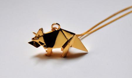 Драгоценные фигурки-оригами от Claire & Arnaud — фото 19