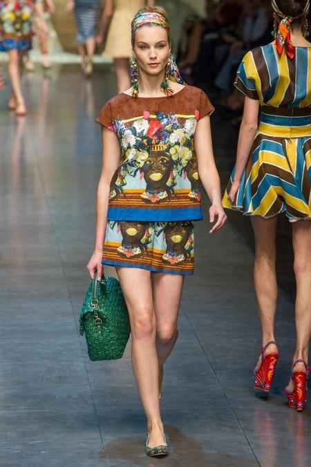 Сицилия от Dolce & Gabbana - женская коллекция весна-лето 2013 — фото 40