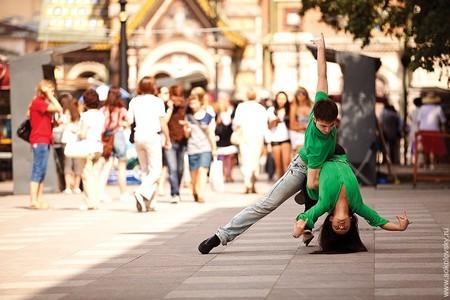 Егор Нечуйкин и Анастасия Макеева, спортивные бальные танцы, канал Грибоедова