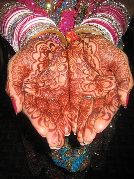 Менди – украшение не только для индийских принцесс — фото 25