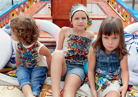 Самым любимым – детская коллекция Dolce&Gabbana весна-лето 2013 — фото 23