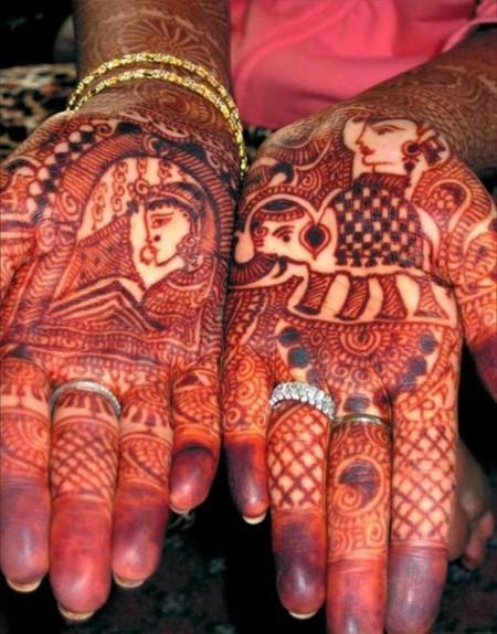 Менди – украшение не только для индийских принцесс — фото 4