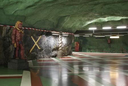 Метро, ради которого стоит приехать в Стокгольм! — фото 20