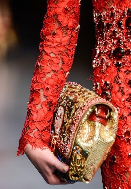 Dolce & Gabbana осень-зима 2013-2014 – когда всего слишком много — фото 85