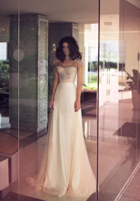 Свадебная коллекция Zahavit Tshuba – если хочется нежное и необычное платье — фото 32