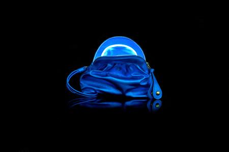 Мини – сумочка с подсветкой Dries Preston Color Blast Light Mini Bag — фото 2