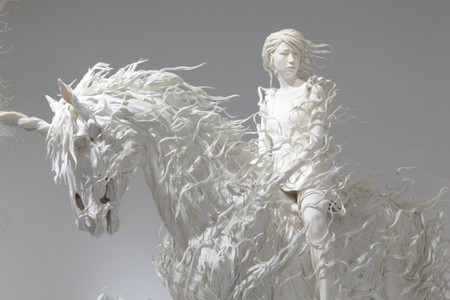 Белая сказка скульптора Мотохико Одани (Motohiko Odani) — фото 2
