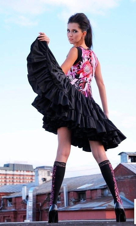 «Две сорванные башни» - модный творческий дуэт и его коллекция — фото 1