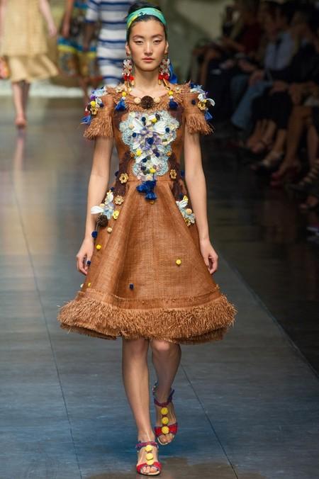 Сицилия от Dolce & Gabbana - женская коллекция весна-лето 2013 — фото 64