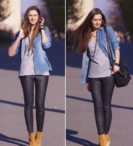 Ода джинсовой рубашке – сочиняем образы — фото 34