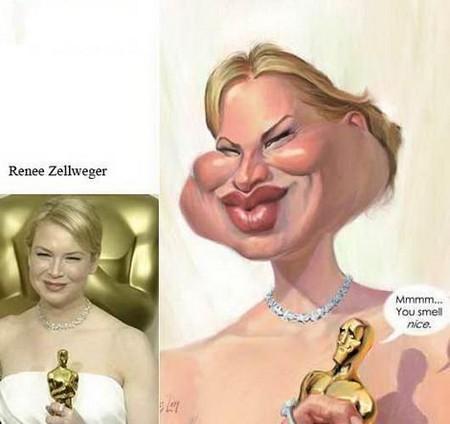 Современные карикатуры на голливудских звезд — фото 21