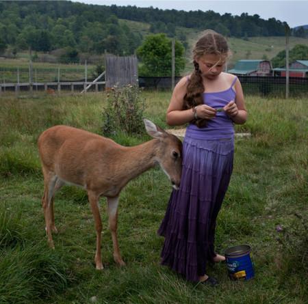 Фотопроект Amelia's world – животные в мире одной девочки — фото 20