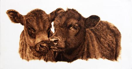 Пирография – горячая живопись Джулии Бендер — фото 20