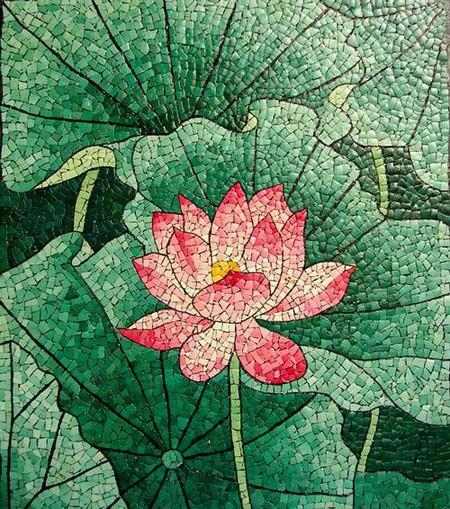 Мозаика из яичной скорлупы Любови Мешакиной — фото 13