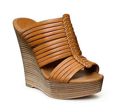 Коллекция обуви от Coach весна-лето 2013 – каблуки, платформа, мокасины, сандалии! — фото 29
