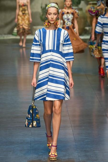 Сицилия от Dolce & Gabbana - женская коллекция весна-лето 2013 — фото 86