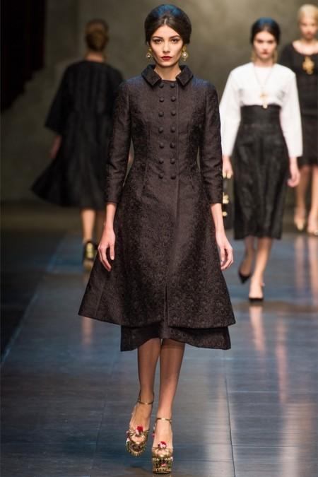 Dolce & Gabbana осень-зима 2013-2014 – когда всего слишком много — фото 36