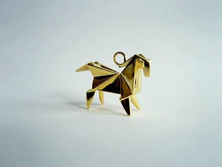 Драгоценные фигурки-оригами от Claire & Arnaud — фото 10
