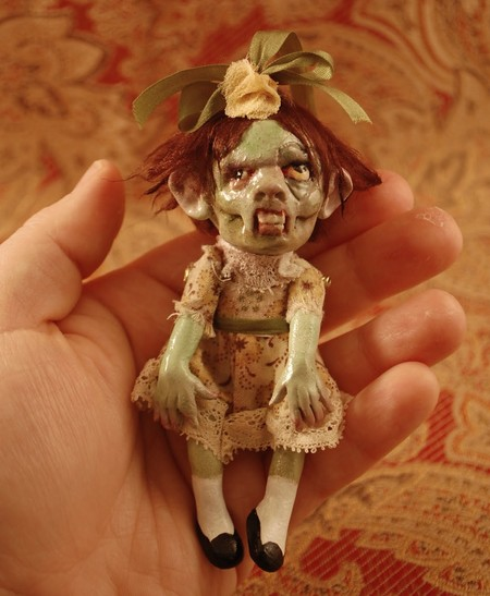Зомби, монстры, вампиры и прочие куклы Камиллы Млынарчик — фото 6