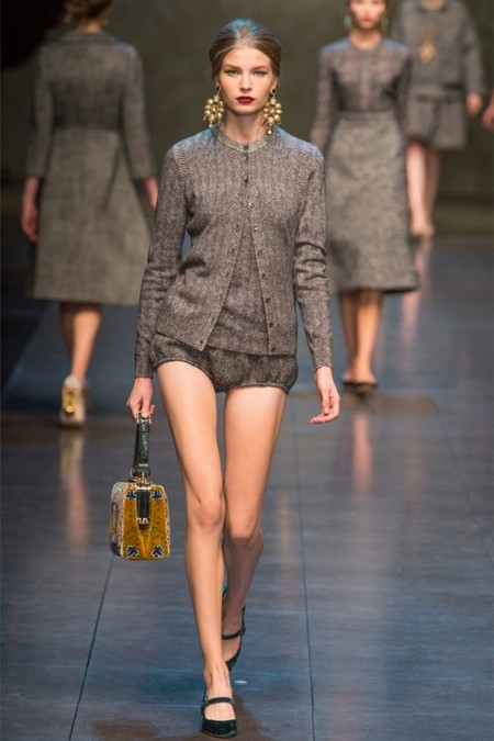 Dolce & Gabbana осень-зима 2013-2014 – когда всего слишком много — фото 25