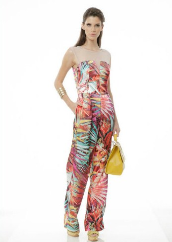 Яркая коллекция Regina Salomao сезона весна-лето 2013 — фото 26