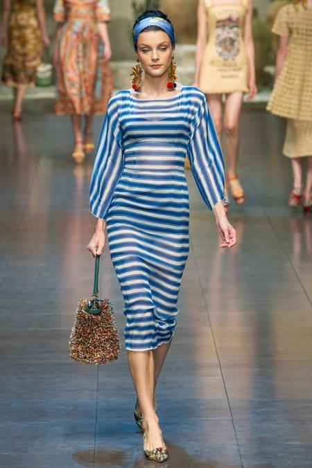Сицилия от Dolce & Gabbana - женская коллекция весна-лето 2013 — фото 92