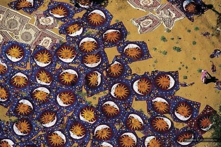 Индия, Джайпур, сушка ковров