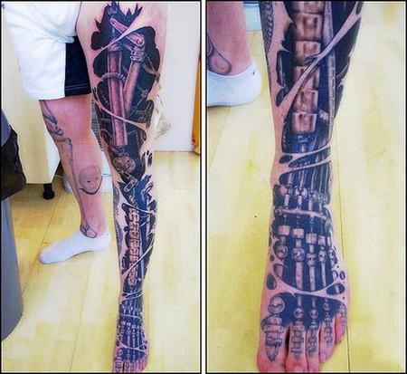 Татуировки в формате 3D – искусство или …? — фото 31