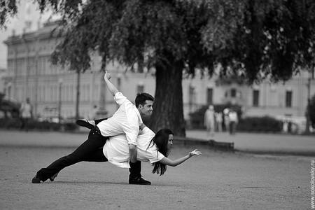 Егор Нечуйкин и Анастасия Макеева, спортивные бальные танцы, Марсово поле
