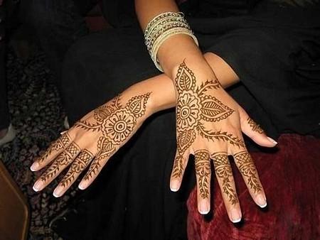 Менди – украшение не только для индийских принцесс — фото 70