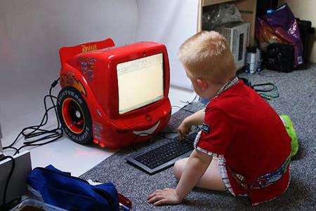 Детский компьютер в стиле «Тачки» — фото 8