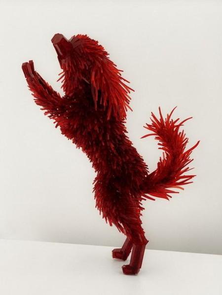 Скульптуры из битого стекла от Марты Клоновской — фото 2